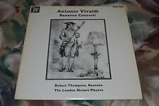 Antonio Vivaldi~Bassoon Concerti~Robert Thompson~The London Mozart Players