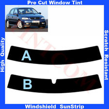 Pre Cut Window Tint Sunstrip for Opel Astra G 5 Doors Hatchback 98-04 Any Shade
