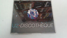 "U2 ""DISCOTHEQUE"" CD SINGLE 4 TRACKS"