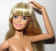 * NUDE BARBIE ~ BLONDE URBAN JUNGLE ARTICULATED MODEL MUSE MATTEL DOLL FOR OOAK