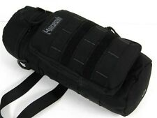 "MAXPEDITION Black 12"" x 5"" Large BOTTLE HOLDER! 0323B"