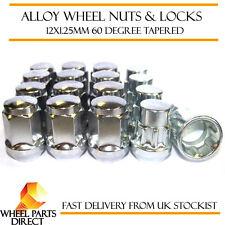 Wheel Nuts & Locks (12+4) 12x1.25 Bolts for Suzuki Grand Vitara [Mk1] 97-05
