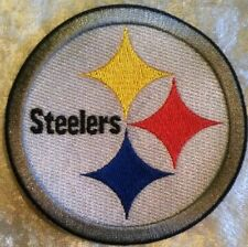 "Pittsburgh Steelers NFL 3.5"" Iron On Embroidered Patch ~USA Seller~FREE Ship"