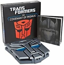 NEW Transformers: The Covenant of Primus Deluxe Hardcover by Justina Robson