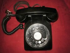 "Western Electric Early (1951) Black Model ""500 T"" Telephone"