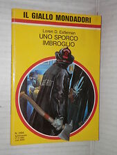 UNO SPORCO IMBROGLIO Loren D Estleman Il giallo Mondadori 2194 1991 libro di