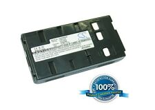 6.0V battery for Panasonic NV-S78, PV-IQ403, PV-IQ525, PV-42, NV-RJ27, PV-31, NV