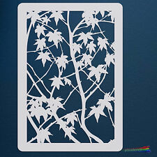 Maple Tree  Stencil Template:  Scrapbooking, Airbrushing, Art:  ST31A6