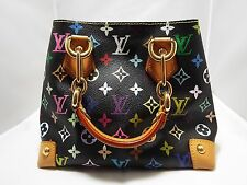 Louis Vuitton Monogram Multicolor Black Audra Hand Bag