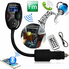 Car Wireless SD MMC FM Transmitter MP3 Player Bluetooth Modulator Handfree