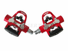 "New Wellgo E148 Indoor Exercise Fitness Trainer Bike Pedals 9/16"" Red"