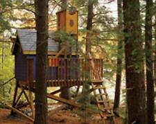 Build it yourself -Free-standing Treehouse / Play Fort / House -Woodworking Plan