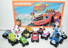 Blaze and the Monster Machines Party Favors Set of 13 fun figures with 10 Trucks