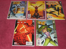 MARVEL - ULTIMATE X-MEN LOT - NEAR MINT - 17, 38, 39, 61, & 78