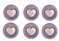 JESSE JAMES ~ DRESS IT UP BUTTONS -  HEART SEW FUN COLLECTION~ SALE! ~ CRAFT