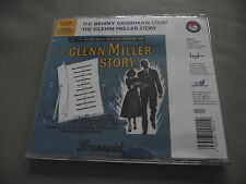 *NEW* THE GLENN MILLER STORY + THE BENNY GOODMAN STORY FILM SOUNDTRACKS 2 CD