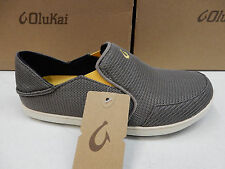 OLUKAI MENS SHOES NOHEA MESH ROCK CANOE SIZE 11