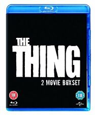 BLU-RAY   THE THING 1982 PLUS THE THING 2011   BRAND NEW SEALED GENUINE UK STOCK
