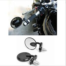 "Motorcycle Rear view Side Mirror For 7/8"" Handlebar For ROYAL ENFIELD BULLET"