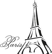 Eiffel tower mura smalll vinyl wall decal