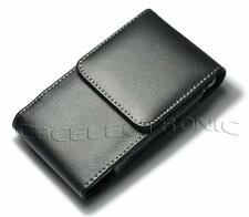 New Black vertical belt clip on leather case holster for iphone 3g 3gs 4g 4S