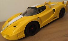 FERRARI ENZO FXX RECHARGEABLE Radio Remote Control Car FAST SPEED 1:10 YELLOW