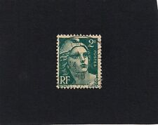 1945 1946 France Marianne Gandon 2f    New Daily Stamp (C)