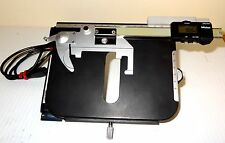 Nikon Mitutoyo x'y' Measuring Stage for Labophot or Optiphot series