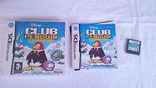 DISNEY CLUB PENGUIN ELITE PENGUIN FORCE NINTENDO DS DSI 2DS 3DS XL PAL UK INGLÉS