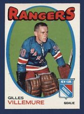 1971-72 O-Pee-Chee #18 GILLES VILLEMURE Nmmt to Nmmt+ New York Rangers!!