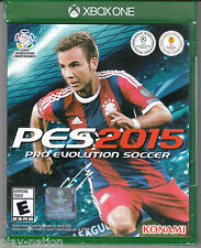 Pro Evolution Soccer PES 2015 for Xbox One *NEW*