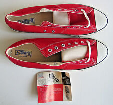 Rare Vintage USA Converse Chuck Taylor All Star Shoes Red Low Cut Shoes 15 wm 17