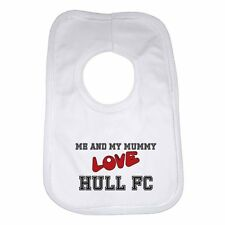 Me and My Mummy Love Hull Fc New Personalised Baby Bib for Boys & Girls