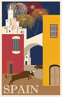 107 Vintage Travel Poster Art Spain *FREE POSTERS