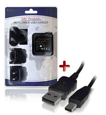 CASIO EXILIM EX-ZR1000 USB BATTERY CHARGER AD-C53U DIGITAL CAMERA