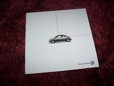 Catalogue / Brochure VOLKSWAGEN New Beetle Convertible 2002 //