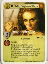 A Game of Thrones LCG - 1x Chella, Daughter of Cheyk #L043 - Ice and Fire Draft