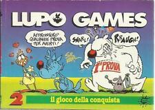 LUPO GAMES N.2 IL GIOCO DELLA CONQUISTA - SUPPLEMENTO LUPO ALBERTO N.97