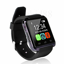 Black Bluetooth Smart Wrist Watch Phone Mate For Android Galaxy S3 i9300 S4 S5