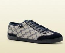 AUTH Gucci Men Lace-up Sneaker With Web Detail 14.5