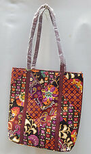 "VERA BRADLEY Tall Tote in ""Suzani"",  NWT - Suzani & Safari Sunset together RV$68"