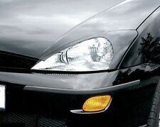 HEADLIGHT BROWS EYELIDS EYEBROWS FOR THE FORD FOCUS MK1 10/98 - 9/04