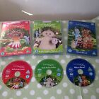 In The Night Garden DVD's x 3 - Hello Makka Pakka Upsy Daisy & Who's Here Gift