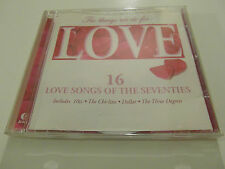 The Things We Do For Love - Various Artists (CD Album) Used Very Good