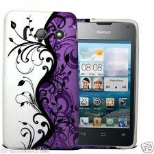 FLORAL PRINT SILICONE GEL CASE COVER SKIN FOR Huawei Ascend Y300 +SP