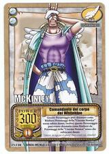 ONE PIECE CCG • Mc Kinley Comandante del Corpo ITALIANO CS-C38 • All'Arrembaggio
