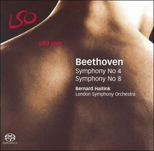 Symphonies Nos. 4 and 8 (Haitink, Lso) SACD NEW