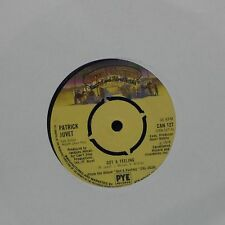 "PATRICK JUVET 'GOT A FEELING' UK 7"" SINGLE"