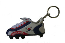 SOUTH KOREA COUNTRY FLAG SOCCER SHOE CLEAT KEYCHAIN .. NEW