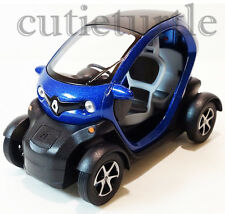 Kinsfun Renault Twizy 1:18 Diecast Toy Car Pull Back action Blue